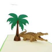 BF059-crocodile 3D card-pop up card manufacturer-charmpop (3)