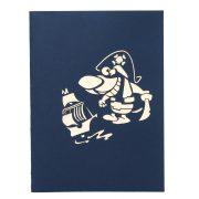 BG066-Birthday Pirate Dog 3D Card-Birthday Cards-custom cards manufacturer-CharmPop (2)