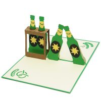 Beer packs pop up card-3d greeting card supplier-origami card manufacturer-lpop up card wholesale (2)