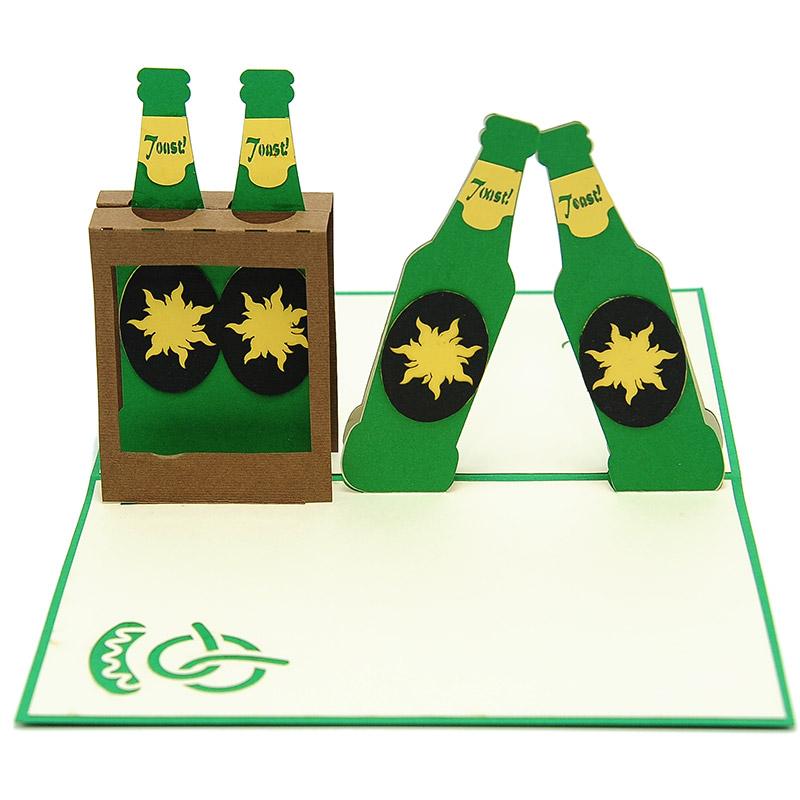 Beer packs pop up card custom designsbirthday pop up card beer packs pop up card custom designsbirthday pop up card wholesale bg068 m4hsunfo