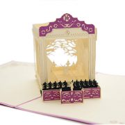 Charmpop-ballet-pop-up-card-3d card supplier