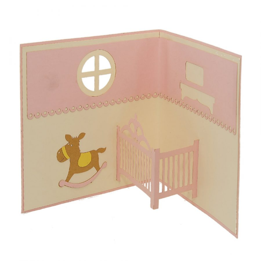 Charmpop-rocking horse 3d cards-pop-up-card-3d card supplier (3)