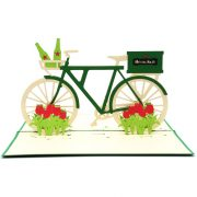 Custom Heineken Bike-custom pop up cards manufacturer-CharmPop (3)