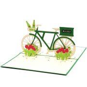 Custom Heineken Bike-custom pop up cards manufacturer-CharmPop (4)