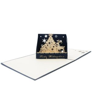 Custom Weihnachten 3D Cards--custom pop up Card manufacture-Charm Pop-Berlin (4)