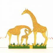giraffe-mother-3d-card-pop-up-card-new-baby-3d-card-custom-3d-manufacturer-nb012-2
