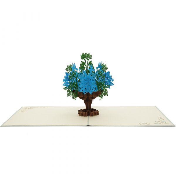 FL006-flower vase 3d card 3-charmpop floral pop up cards-greeting card manufacturer (2)