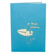 FS034-Birthday-Surfing-Boy-holyday-pop-up-card-friendship-pop-up-card-3