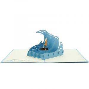 FS052G-Surfing-Holiday Girl-friendship-pop-up-card-gift-pop-up-card-Charm-Pop (3)