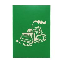 FS066| farm plow| pop up card| high quality 3d greeting cards|transport popup cards wholesaler-charmpop1