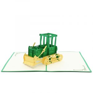 FS066| farm plow| pop up card| high quality 3d greeting cards|transport popup cards wholesaler-charmpop3