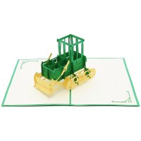 FS066| farm plow| pop up card| high quality 3d greeting cards|transport popup cards wholesaler-charmpop4