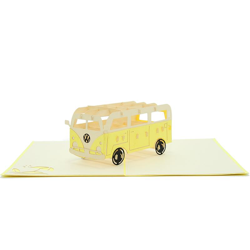 8ad80ea04d FS077Y-Campervan-3D-Cards-CharmPop-Birthday-Cards-transporttation-