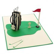 FS080-Golf Set 3D cards-custom pop up card manufacturer-CharmPop (4)