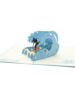 FS083 surfing extreme pop up card-pop up card vietnam- 3d greeting cards- sydney pop up card- pop up card wholesale- pop up card manufacturer- kirigami card australia (1)