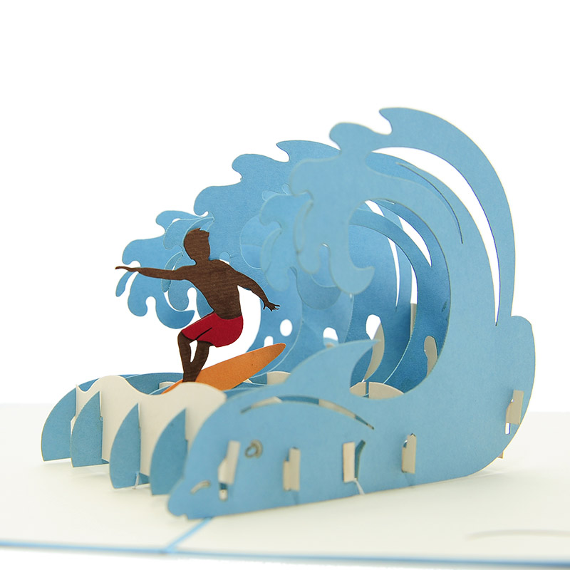 Fs084 surfing extreme pop up card pop up card vietnam 3d greeting fs084 surfing extreme pop up card pop up card vietnam 3d greeting cards sydney pop up card pop up card wholesale pop up card manufacturer kirigami card m4hsunfo