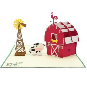 Farm House-CharmPopCards-countriside pop up cards (5)