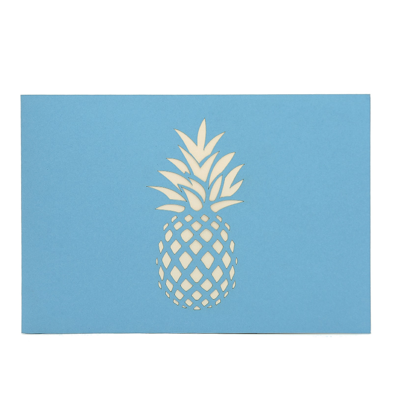 Pineapple drink pop up card 3d greeting card supplier origami card pineapple drink pop up card 3d greeting card supplier origami card manufacturer lpop up card wholesale 3 m4hsunfo