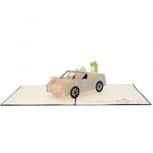 WD032- Wedding day pop-up card-wedding pop up cards-birthday 3d cards-pop up card manufacturer (1)