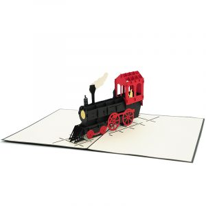 bg062|classic train pop up card| high quality 3d greeting cards|transport popup cards wholesaler-charmpop2