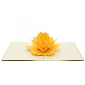 FL028-Rose-flower-pop-up-greeting-card-love-card-kirigami card manufacturer (3)