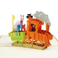 BG056-Birthday-Animal-Train-pop-up-card-3d-pop-up-card-manufacture-vietnam-Charm Pop (2)
