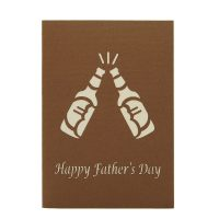 BG070- Beer pop up card- men gift idea- 3d gift card for men- pop up card manufacturer-popup card supplier (2)