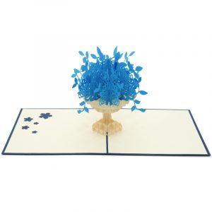 FL017B-flower pop up cards- aniversary pop up cards 3D- pop up cards wholesale manufacturer (3)