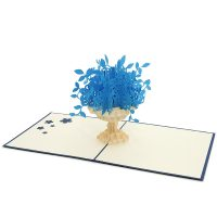 FL017B-flower pop up cards- aniversary pop up cards 3D- pop up cards wholesale manufacturer (4)