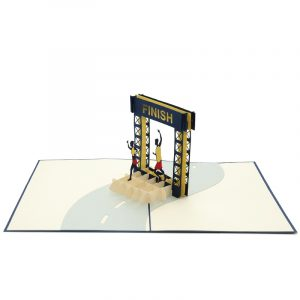 FS074-Finish-line-running-3d-card-pop-up-card-wholesale-pop-card-manufacturer-sport-3d-cards-charmpop (3)