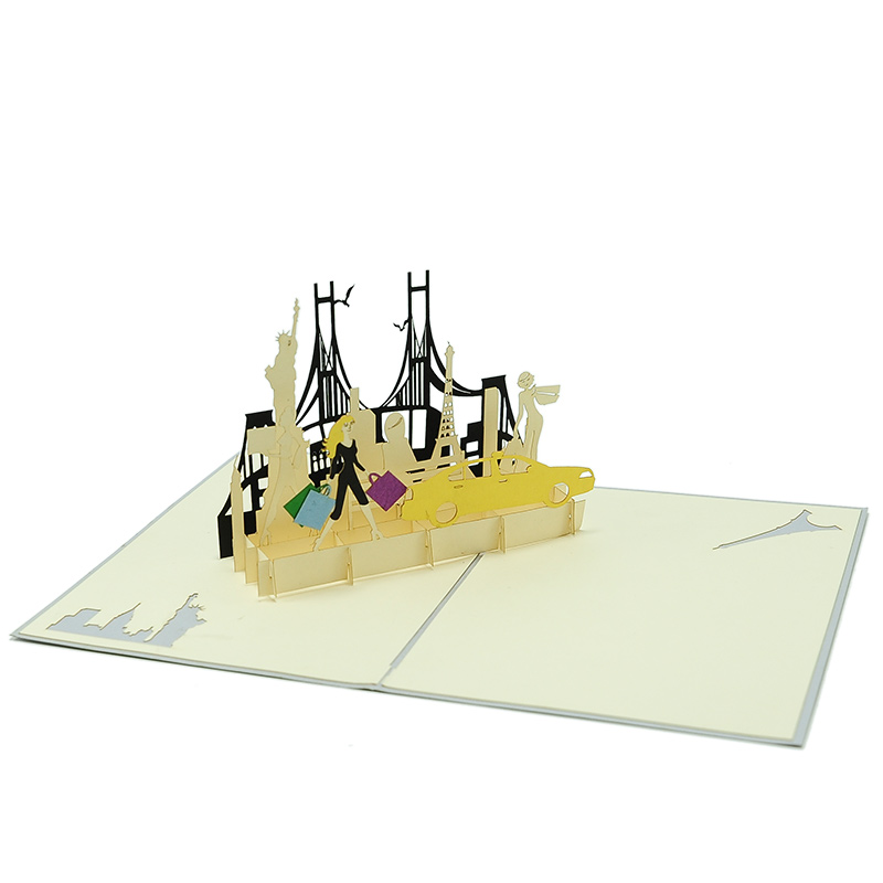 pop up card wholesale- pop up card manufacturer- kirigami card