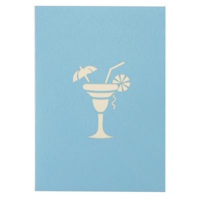 Cocktail pop up card- birthday pop up card- pop up card for her- pop up card manufacturer (2)