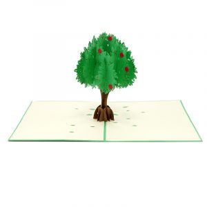 FL041-Apple tree pop up card- 3D card-Vietnam custom cards wholsale- Charm Pop (3)