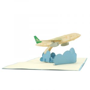 FS095-Airplane kirigami card-custom 3D Card Supplier-Charm Pop-Deutschland (4)