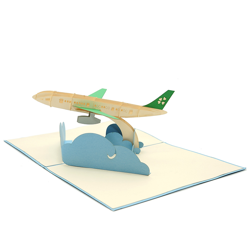 Well-liked Airplane kirigami card-custom 3D Card Supplier-Charm Pop-Deutschland IF58
