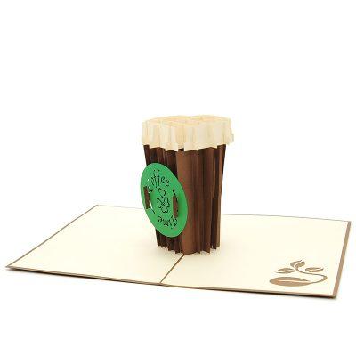 FS096G-Cocktail pop up card,pop up card wholesale-kirigami card manufacturer (4)
