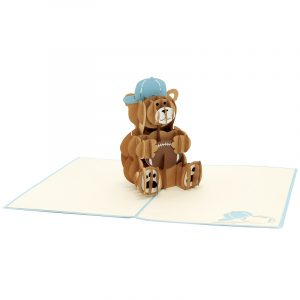 rugby teddy pop up card- pop up card for boys- teddy pop up card- pop up card manufacturer (3)