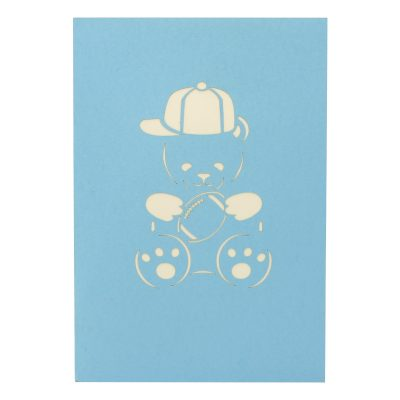 rugby teddy pop up card- pop up card for boys- teddy pop up card- pop up card manufacturer (5)