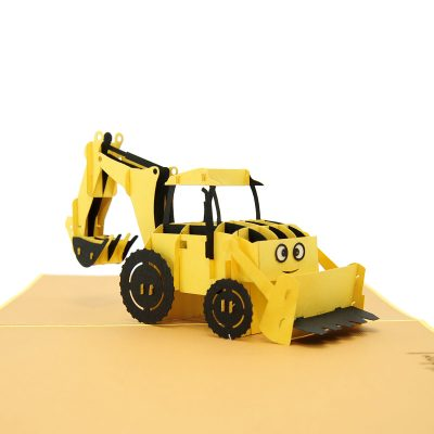 Bob the builder pop up card- Scoop pop up card- Scoop greeting card- Bob the builder greeting card (1)