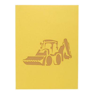 Bob the builder pop up card- Scoop pop up card- Scoop greeting card- Bob the builder greeting card (2)