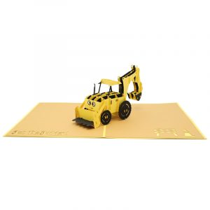 Bob the builder pop up card- Scoop pop up card- Scoop greeting card- Bob the builder greeting card (3)