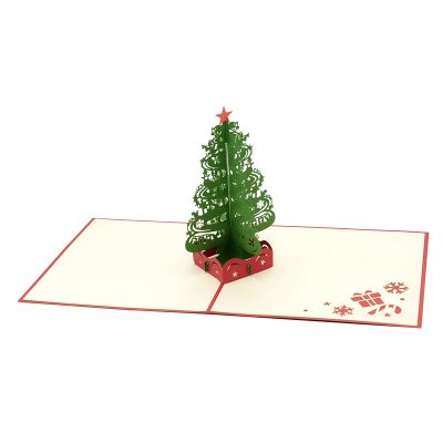 Christmas Tree pop up card–pop up card wholesale-popupcard manufacturer-Christmas pop up card (3)