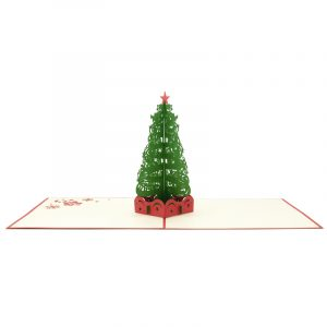 Christmas Tree pop up card--pop up card wholesale-popupcard manufacturer-Christmas pop up card (4)