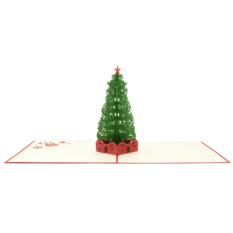 christmas tree pop up cardpop up card wholesale popupcard manufacturer christmas pop