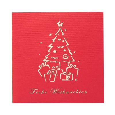 Christmas box pop up card-pop up card wholesale-popupcard manufacturer-Christmas pop up card (2)