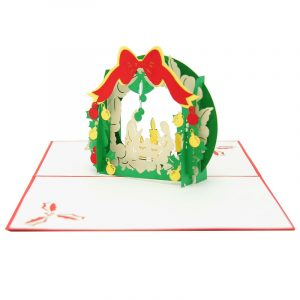 Christmas pop up card- Jesus pop up card- pop up card manufacturer-pop up card wholesale (3)