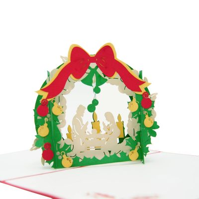 Christmas pop up card- Jesus pop up card- pop up card manufacturer-pop up card wholesale (4)