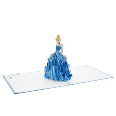 Cinderella pop up card- disney pop up card- pop up card for kids- pop up card manufacturer- pop up card wholesaler-CharmPop (2)