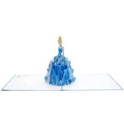 Cinderella pop up card- disney pop up card- pop up card for kids- pop up card manufacturer- pop up card wholesaler-CharmPop (3)