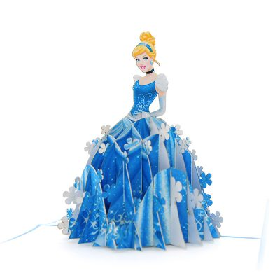 Cinderella pop up card- disney pop up card- pop up card for kids- pop up card manufacturer- pop up card wholesaler-CharmPop (4)
